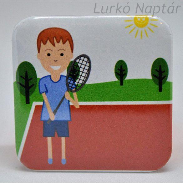 Tenisz, Tollaslabda fiú